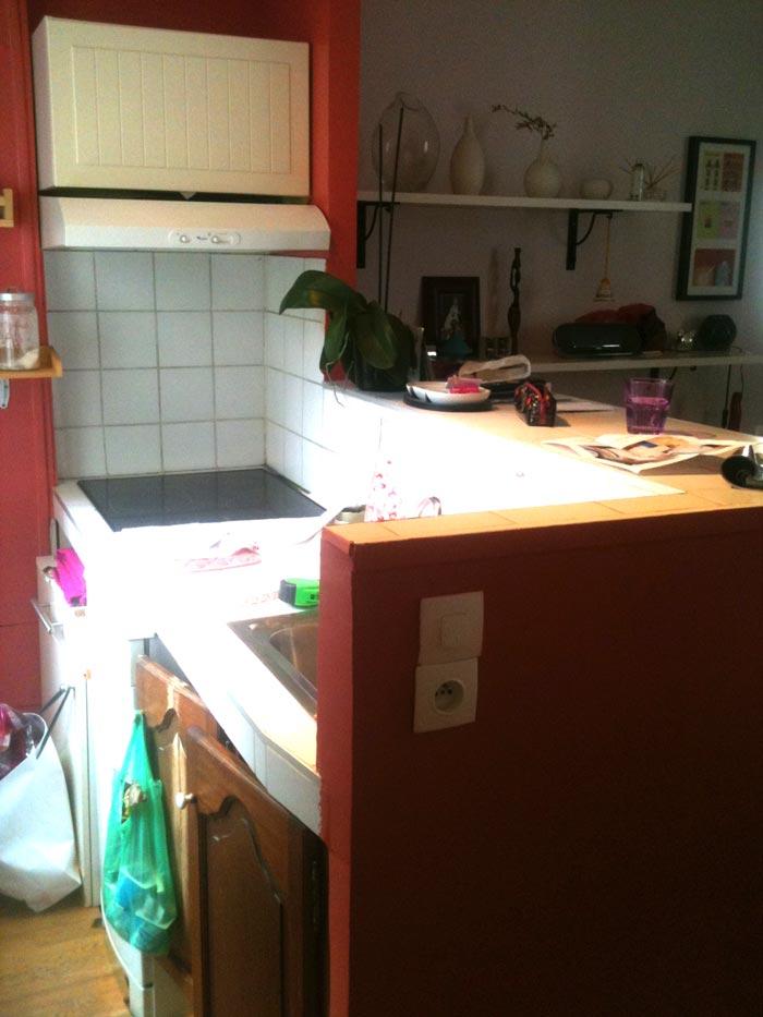 Une petite cuisine ouverte for Toute petite cuisine 2m2
