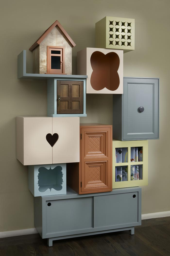 Upcycling - Reve ment muur woonkamer ...