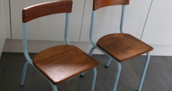gwenadeco relooking chaise d'école 1